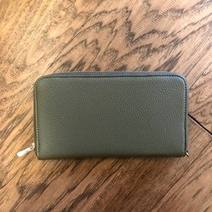 All About the Benjamins Wallet - Olive
